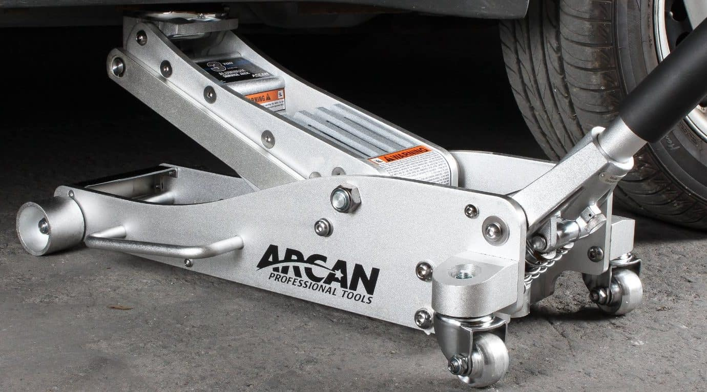 arcan floor jack Aluminum